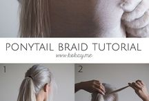 HAIR~UP TUTORIALS