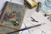 Victorian Correspondence / Victorian Era Wax Seals and Letter Writing