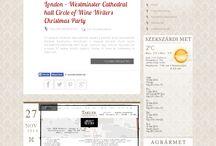 BLOG / http://www.takler.com/blog ||   Friss hírek, információk | Latest news, information, wine dinners, articles...