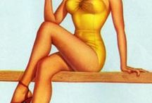 Pin-Up Art by D'AMARIO, Frank