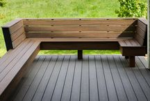 Decks / Wooden decks Composite decking