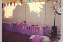 happy 3rd b-day party / Veranda party organized by wrap