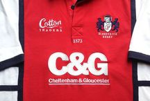 Classic Gloucester Rugby Shirts / Classic, vintage & retro authentic Gloucester rugby shirts from the past 30 years. Legendary players from many memorable season gone by.  Worldwide Shipping | Free UK Delivery