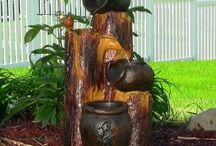 Solar Fountains / Harness Nature's Energy With A Solar Water Fountain For Your Garden