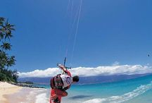 Kitesurfing!