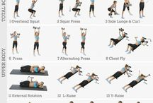 Dumbell workout posters
