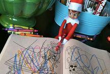 Lutin farceur de Noël / elf on the shelf ideas