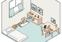 Montessori kids room