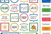 Planner Stickers / Lots of stickers that are perfect for planners!