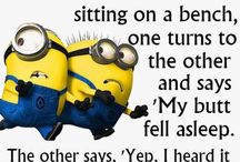 Minion joy and other silliness