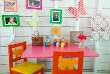 Playroom Play Room / For a room that inspires creativity without compromising order. Colorful decor and super storage ideas.
