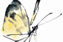 동양화-곤충