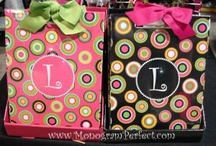 For the love of monogramming... / Loving all things monogrammed!!!