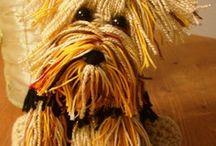Собаки вязание