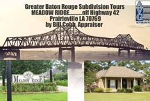Ascension Parish Real Estate / by Bill Cobb