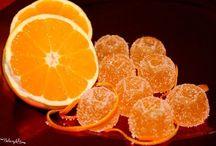 Cibo e bevande caramelle arancia