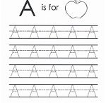 Tracing Letters / Free printable worksheets to teach correct letter formation by tracing over the letters.