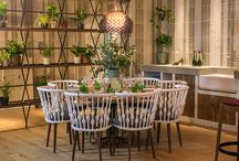 Contract furniture for hospitality design projects / Some of our Inspirational projects for which we have supplied furniture - just a taste of what we do and some of the brilliant designers, restaurants, hotels & other venues we work with.