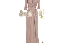 Beige gowns