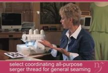 Serger Tips & Projects