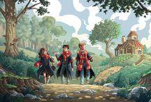 Harry Potter / Fanarts I made of Harry Potter's magic world.