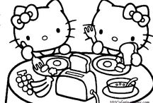 9 Cute Hello Kitty Coloring Pages