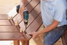 diy outdoor chairs, tables, everythings