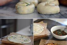 лепешки хлеб