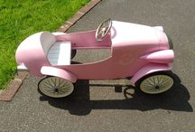 Project Brum Brum / Managed to grab a bargain on eBay for a Baghera pedal car. Needs a bit of love and attention (and paint job).