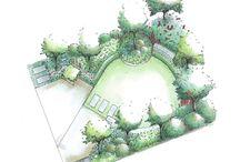 Ogród na planie koła