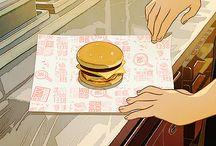 Anime Food Gifs