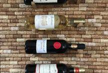 Porte-bouteilles de vin en liège by DIMENSYON / Support pour 6 bouteilles de vin en bouchon de liège by DIMENSYON