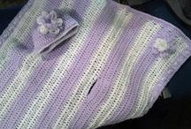 Crochet carseat blanket  / by Joanie Benninghofen Carter