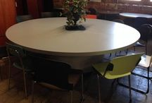 Conference in Style / Meet around any of these tables for a productive and professional set up!