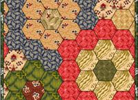 Quilt English piecing patterns