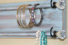 Jewelry Organizers / Handmade Jewelry Holders for display