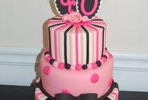 gâteau (déco pâte à sucre)