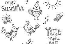 CTMH - Sunshine Birdies