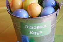 Dino Party Ideas: Food and Games
