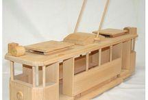 Wooden Toys / Original Czech handmade wooden toys