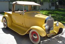 Cars & Trucks / Who doesn't like a good classic? / by Renay Billings-Sampson