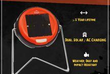 Dlight S2 LED Solar torch