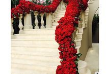 Staircases - Flowers & Candles / .