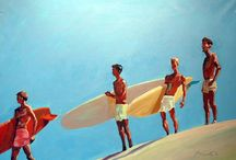 Lennox Surfers
