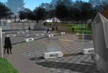 Przestrzeń publiczna / projektowanie i zakładanie ogrodów