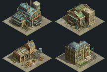 Game Buildings and Structures