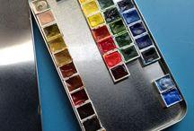 Watercolor Pan Sets