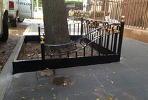 Custom Iron Works / We custom build and install iron works from tree guards to security gates for windows and doors in NYC.