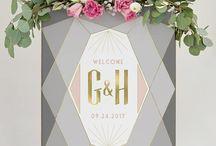 Wedding: Signages