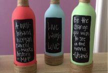 bar bottles design